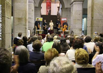 """Concierto """"Cuarteto Galdós"""" en Arenas de San Pedro"""