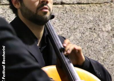 Javier Morillas, cello
