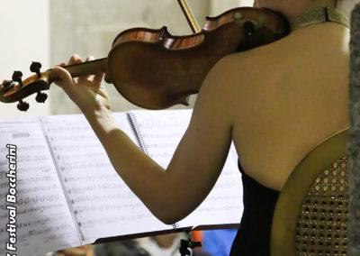 Blanca Fernández, violín