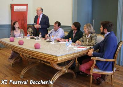 Presentación Festival, José Antonio Boccherini