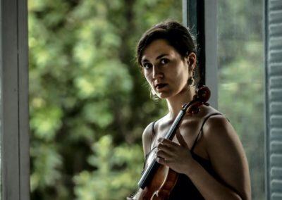 Blanca Fernández González, violinista