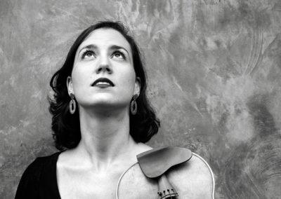 Blanca Fernández, violçi. Fotógrafo: Iván Barreiro